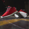 """Sneaker Customizer Unveils """"Quilted Red Lamb"""" Yeezy Boost 350s"""