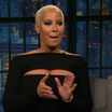 Amber Rose On Late Night With Seth Meyers