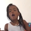 Watch Young Thug's Daughter Freestyle Over A Trap Beat
