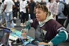 """YBN Cordae Looks Like """"A Goth Waiter"""" In Throwback Photo From His Old Job"""