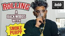 """SmokePurpp Details """"God Bud"""" Weed Strain On """"How To Roll"""""""