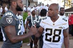 Latavius Murray Vows To Change His Number In Honor Of Adrian Peterson