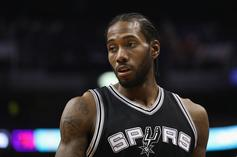 Kawhi Leonard Reportedly At Odds With Spurs Organization