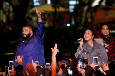 "DJ Khaled & Kehlani Sing ""Happy Birthday"" To Demi Lovato On Her 'Sober Birthday'"
