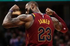LeBron James Reportedly Gained 7 Pounds During A Playoff Game