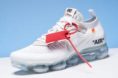 Off-White x Nike Vapormax To Release Tomorrow In White Colorway