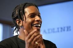 A$AP Rocky Shows Off New Under Armour Sneaker Collab