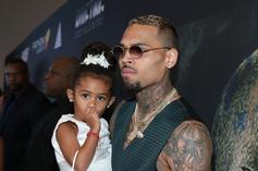 Chris Brown Brings His Daughter Royalty Out On Stage During Recent Concert