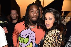 Offset & Cardi B Facetime Their Baby Daughter Kulture From The Club