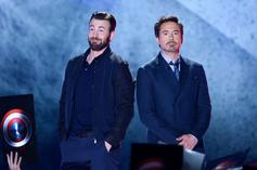 "Robert Downey Jr. Warmly Addresses Chris Evans' ""Avengers"" Farewell"