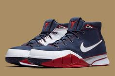 """Nike Kobe 1 Protro """"USA"""" Releasing For First Time Since 2006"""