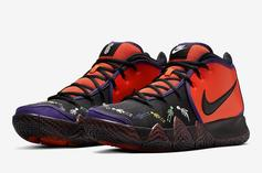 "Nike Kyrie 4 ""Day Of The Dead"" Coming Soon: Official Images"