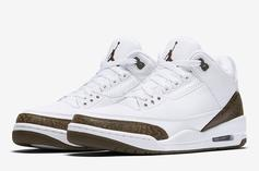"""Air Jordan 3 """"Mocha"""" Returning For First Time Since 2001: Official Images"""