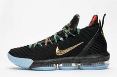 "Nike LeBron 16 ""Watch The Throne"" Releasing This Sunday: New Images"