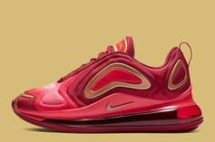"Nike Air Max 720 ""Team Crimson"" Is For The Kids Only"