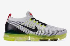 Nike VaporMax 3.0 Sees Volt And Crimson Come Together