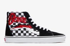 Vans x David Bowie Sneaker Collection Drops This Month: Photos