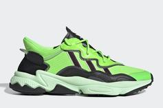 """Adidas Ozweego Gets Flashy With """"Neon Green"""" Colorway: Official Images"""
