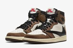 Travis Scott X Air Jordan 1 High OG TS Drops Tomorrow: Where To Cop