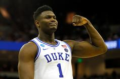 Zion Williamson's Latest Sneaker Choice Could Hint At Shoe Deal