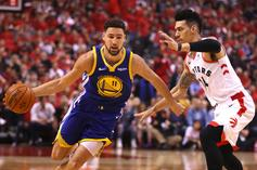 Klay Thompson & Kevin Durant Taunt Drake After Raptors Loss: Watch