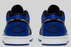 "Air Jordan 1 Low ""Royal Toe"" To Drop Soon: Official Photos"