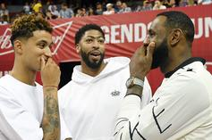 LeBron James Already Playing As Himself, AD, & Boogie In 2K: Watch