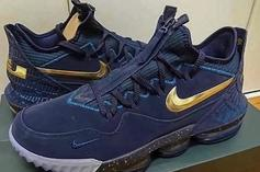 """Nike LeBron 16 Teased In New """"Agimat"""" Colorway: First Look"""