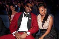 """LeBron James Calls Himself """"Lucky"""" While Thirsting Over Wife's Dress"""