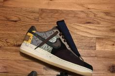Travis Scott Gifts New Nike Air Force 1 Low Collab To Fan: In-Hand Photos