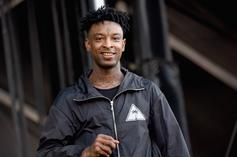 "21 Savage Earns Placement In Forbes' ""Top 30 Under 30"""