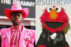 """Lil Nas X & Elmo Put New Spin On """"Elmo's Song"""""""