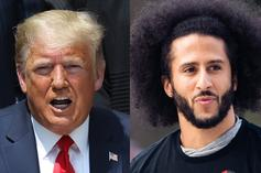 """Trump Says He """"Absolutely""""  Would Support Kaepernick's Return To NFL"""