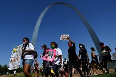 St. Louis Lawyer Couple Points Guns At Black Lives Matter Protesters