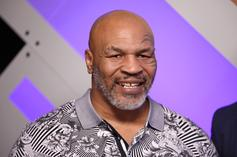 """Mike Tyson Looked Terrified During """"Shark Week"""" Appearance"""