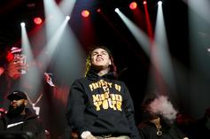 "6ix9ine Reveals Story Of How He Really Injured His Arm, Wasn't ""Caught Lacking"""