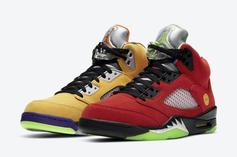 """Air Jordan 5 """"What The"""" Has Arrived: Cop Them Early"""