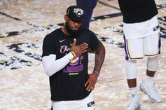 """LeBron James Shares New """"Space Jam 2"""" Update"""