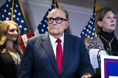 """Rudy Giuliani Says He's """"Recovering Quickly,"""" Following COVID-19 Hospitalization"""