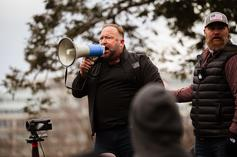 Alex Jones Takes Blame For Inciting Capitol Riot On Trump's Order