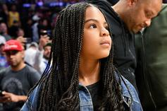 Blue Ivy Carter Takes A Sip From Her New Grammy