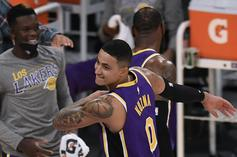 Kyle Kuzma Reacts To Lakers Signing Andre Drummond