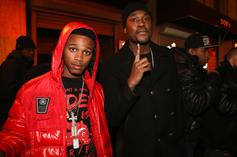 Lil Snupe's Father Visits Son's Grave For First Time Since Prison Release