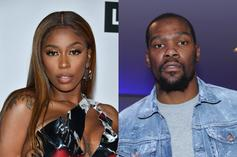 Kash Doll Trolled Kevin Durant Into Thinking His Fans Jumped Her