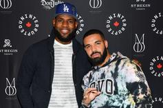 Drake's Son Adonis Is Already Studying LeBron James Highlights