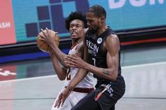 Collin Sexton Ejected For Elbowing Kevin Durant As Nets Clinch 2-Seed