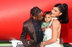 Travis Scott & Kylie Jenner Play At The Park Before Taking Stormi On Target Date