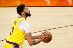 """Anthony Davis Listed As """"Unlikely"""" For Game 5 Vs. Suns"""