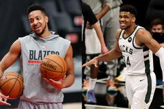 CJ McCollum Shades Giannis Antetokounmpo After Bucks Blow 17-Point Lead To Nets