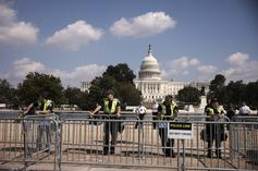 """""""Justice For J6"""" Rally At Capitol Draws Underwhelming Crowd"""